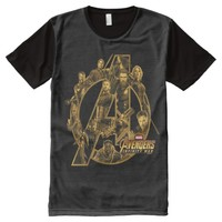 Avengers: Infinity War | Heroes In Avengers Icon All-Over-Print Shirt