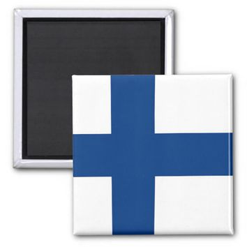 Magnet with Flag of Finland