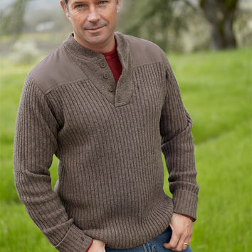 Commando Sweater, Henley: Sweaters | Free Shipping at L.L.Bean
