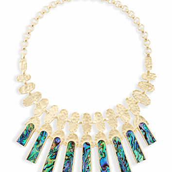 Mimi Statement Necklace in Abalone Shell | Kendra Scott
