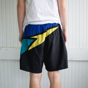 Vintage Speedo Swim Shorts - Size