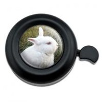 Search - Bunny Rabbit White Easter Bicycle Handlebar Bike Bell