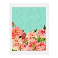 Allyson Johnson Sweetest Floral Art Print