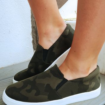 Sneaking Out Sneakers: Camo