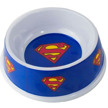 Buckle-Down Superman Pet Bowl