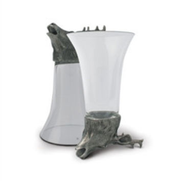 Vagabond House  Stag Stirrup Cup S/2
