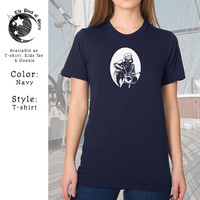 """Johnny Sloth T-shirt, Marlon Brando turned Sloth on a Triumph Motorcycle in """"The Wild One"""" from the 1950's classic movie! Graphic Tee."""