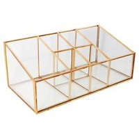Glass & Metal Vanity Organizer - Threshold™