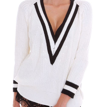 Playdate Sweater Top - Ivory