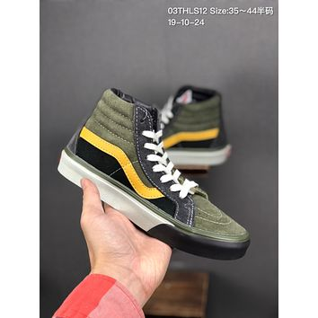 Vans SK8-Hi Reissue VLT LX cheap mens and womens Fashion Canvas Flats Sneakers Sport Shoes