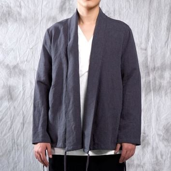Chinese Style Bottom Drawstring Jackets