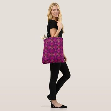 Modern Marrocan All-Over-Print Tote Bag