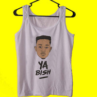 KENDRICK LAMAR Ya Bish tank top womens and mens,unisex adults standard fit cut and double stiched on neck and shoulders