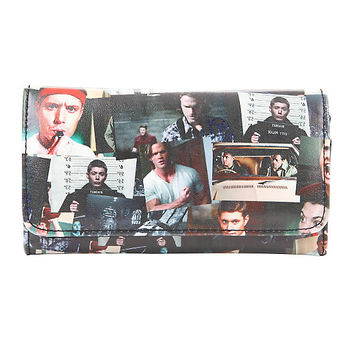 Supernatural Road Collage Flap Wallet