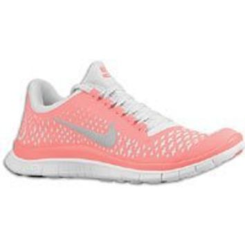 Nike Lady Free 3.0 V4 Running Shoes - 11 - Pink: Shoes