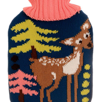 Cute & Cozy Forest Fawn Hot Water Bottle