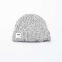 Grey Cable Beanie - One Size / Grey