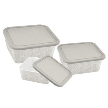 Danico  Imperial® Collection Square Nesting Food Container Set