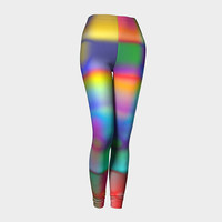 Design: Color My World - Women's Leggings, Leggings, Women's Fashion, Active Wear, Casual Wear, Street Wear, Women's Clothing