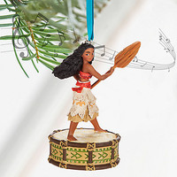 Disney Moana Singing Sketchbook Ornament | Disney Store