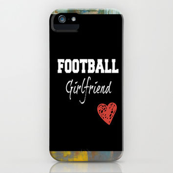 Football girlfriend iPhone & iPod Case by TA DA 2