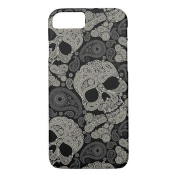 Sugar Skull Pattern Barely There iPhone 7 Case