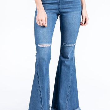 Berkeley High Waist Bellbottoms