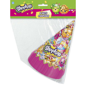 Shopkins Party Hats [8 per Pack]