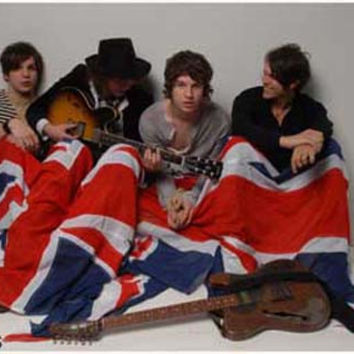 The Kooks British Flag Poster 11x17