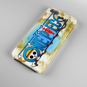 One Piece Map World Anime Japan Case for iPhone 4/4s iPhone 5/5s iPhone 5c iPhone 6/6plus 3D Hardshell