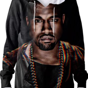 Kanye 'Yeezy' Hoodie created by ARTIST CL | Print All Over Me
