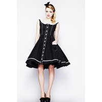 Pin Up Fashion -Vintage look Dress  - Alaia from Hell Bunny