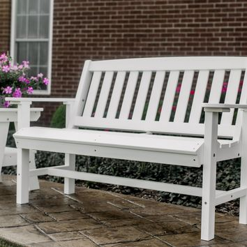Wildridge Heritage Outdoor Mission Bench  - Ships in 10-14 Business Days