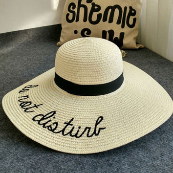 2017 New Summer  Women's Ladies' Foldable Wide Large Brim Floppy