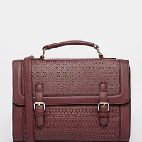 ASOS | ASOS Large Punchout Satchel Bag at ASOS