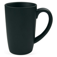 Matte Finished Mugs, Black, Set of 2, Coffee Mugs
