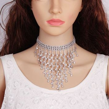 Luxury Rhinestone Crystal Choker