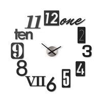 Numbers on the Wall Clock