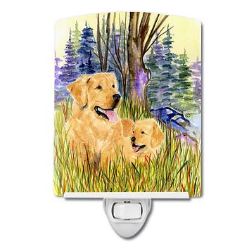 Golden Retriever Ceramic Night Light SS8014CNL