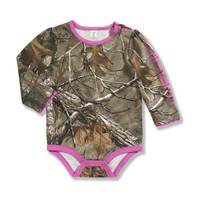 Infant and Toddler Camo Long-sleeve Bodyshirt