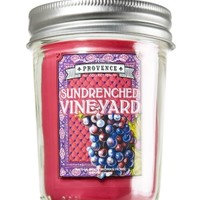 Mason Jar Candle Sundrenched Vineyard