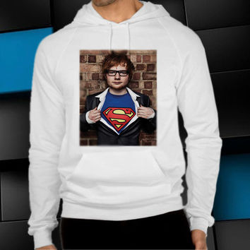 ed sheeran superman unisex hoodie, clothing men woman, sweater