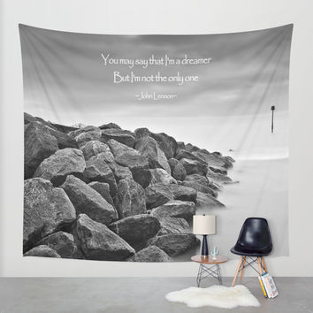 A Dreamer Wall Tapestry by Alice Gosling
