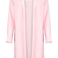 Gloria Side Split Duster Coat