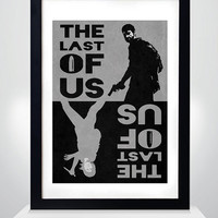 The Last of Us Poster, The Last of Us 2color poster, Print, A3