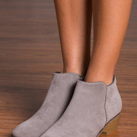 Beauty And The Chic Bootie, Taupe