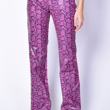 Deadstock Brittany Cheetah Flare Pants