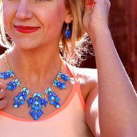 Monday Blues {Necklace}