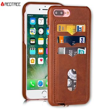 Shockproof Phone Cases for iPhone 5 5S SE 6 6S 7 8 Plus X 10 leather card holder Hybrid Full Protect Case for iPhone 7 AntiKnock