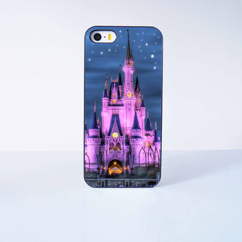 Disney Castle Plastic Case Cover for Apple iPhone 5 5s 6 Plus 6 4 4s  5c